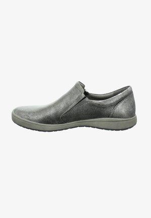 Slip-ons - basalt