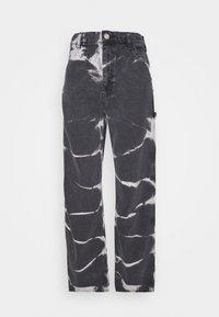 JUNO JEAN - Straight leg jeans - tie dye
