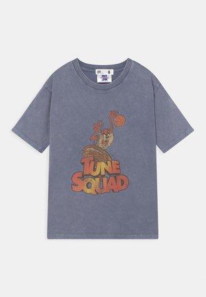 MINI SPACE JAM LICENSE DROP SHOULDER SHORT SLEEVE - T-shirt print - STEEL