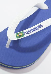 Havaianas - BRASIL LOGO - Pool shoes - marine blue - 5