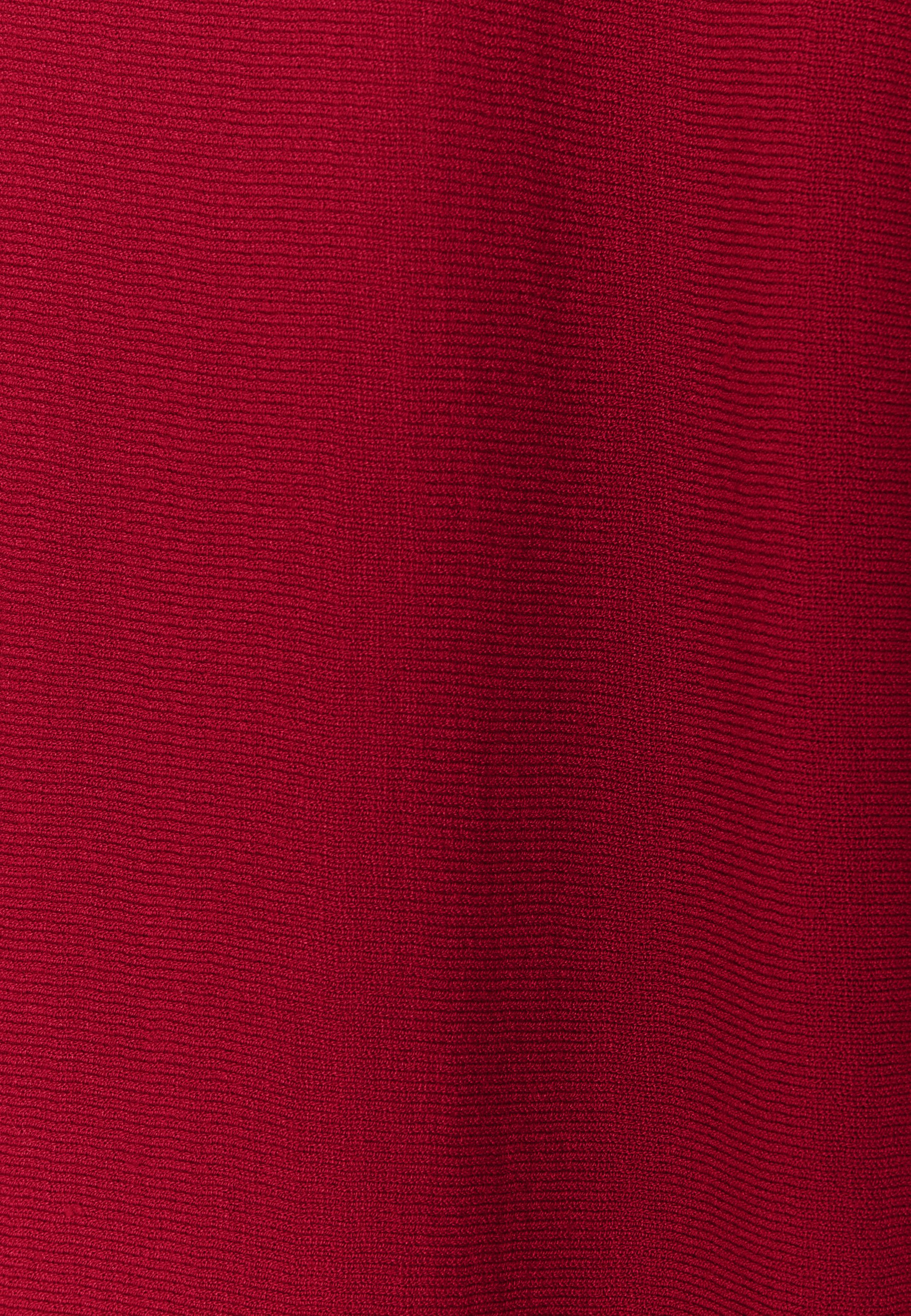 Esprit Collection Strikkegenser - Dark Red/mørkerød