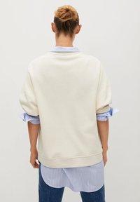Mango - TARIFA - Sweatshirt - open beige - 2