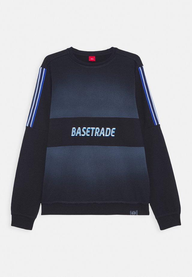 LANGARM - Sweatshirts - blue