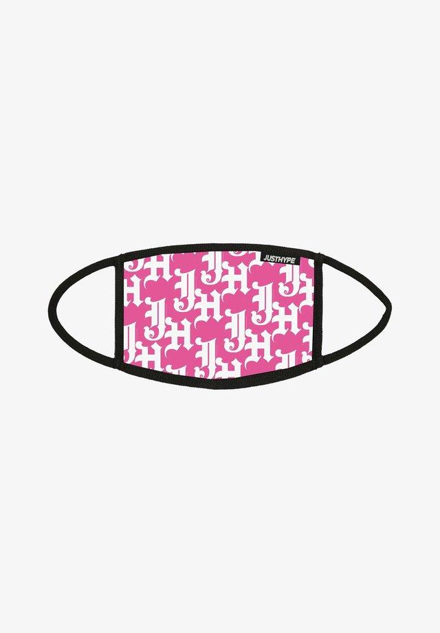 Kasvomaski - pink/white