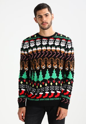 Stickad tröja - multicoloured