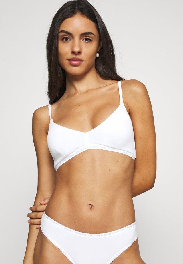 BRASSIERE - Triangle bra - white