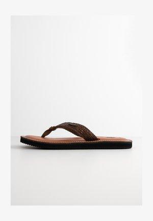 CADELLI - T-bar sandals - dark brown