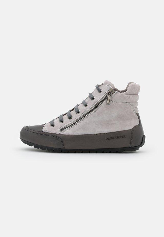 MONTREAL - High-top trainers - tamponato/antracite/grigio