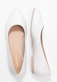 Anna Field - LEATHER BALLERINAS - Ballet pumps - white - 3