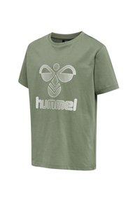 Hummel - HMLPROUD - T-shirts print - sea spray - 1