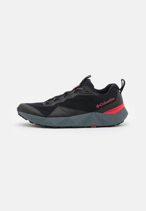FACET15 - Hiking shoes - black/bright red