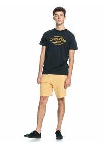 Quiksilver - WIDER MILE - Print T-shirt - black - 1