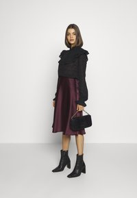 Lace & Beads - SOPHIE SKIRT - A-Linien-Rock - burgundy - 1