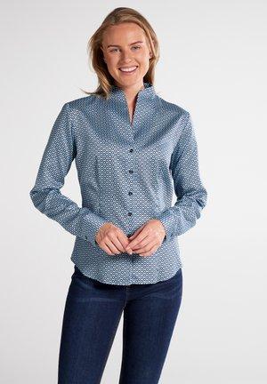 MODERN CLASSIC - Button-down blouse - hellblau/marine