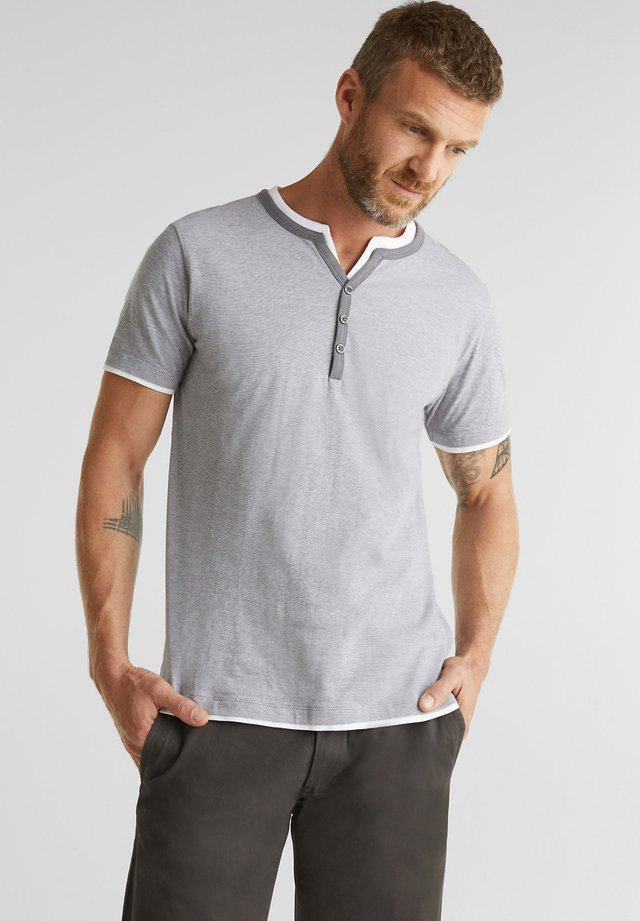 T-shirt con stampa - medium grey