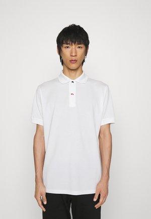 CHARM BUTTON - Polo shirt - white