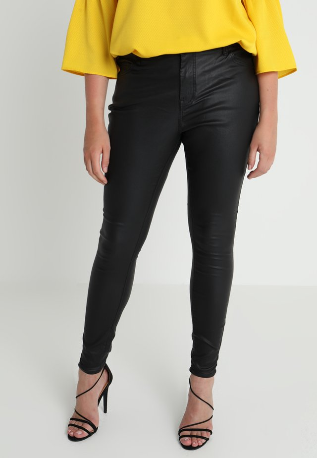 LONG AMY - Trousers - black coated