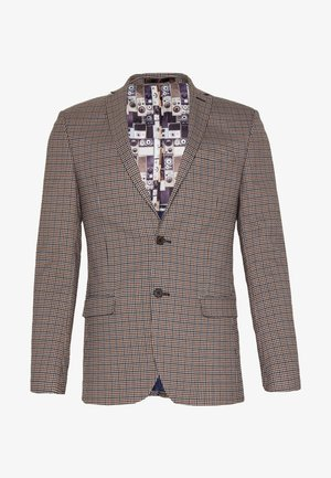 HERITAGE GINGHAM - blazer - brown