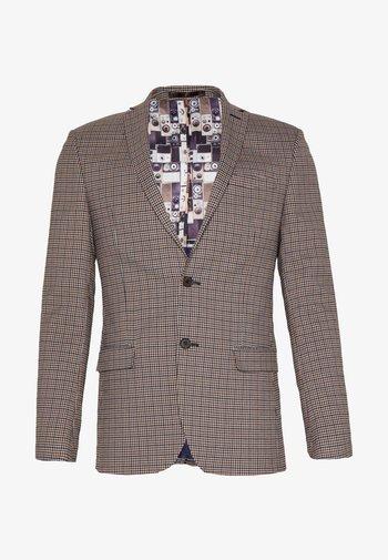 HERITAGE GINGHAM - Blazer jacket - brown