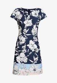 Betty & Co - Day dress - blue/rose - 5