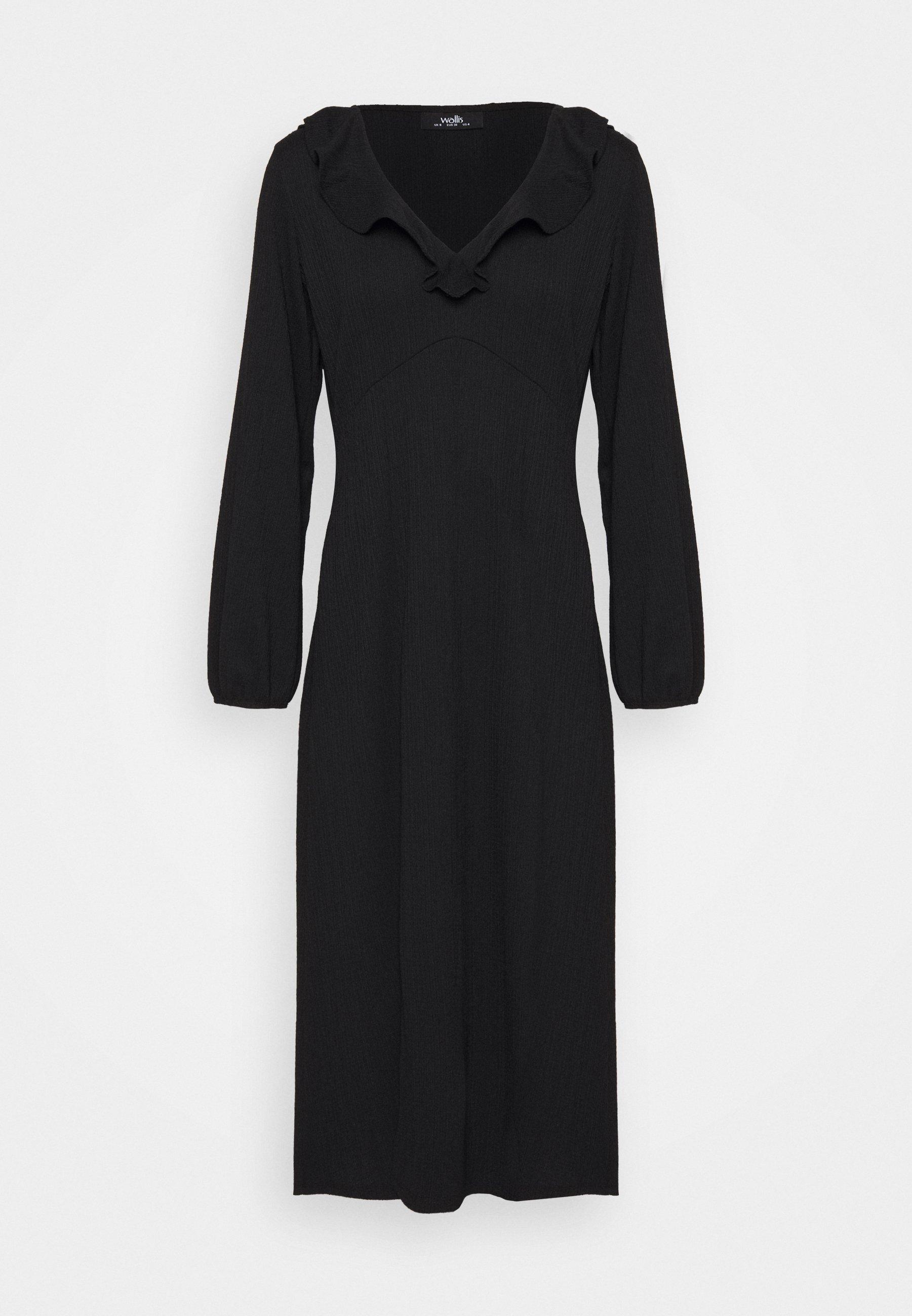 Women SOFT FRILL MIDI DRESS - Day dress