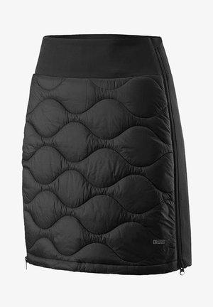ALEXIS - A-line skirt - black