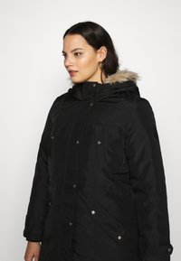 Vero Moda Curve - VMTROK - Winter coat - black - 4