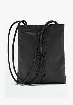 WITH A BRAIDED DETAIL LIMITED EDITION - Tote bag - black