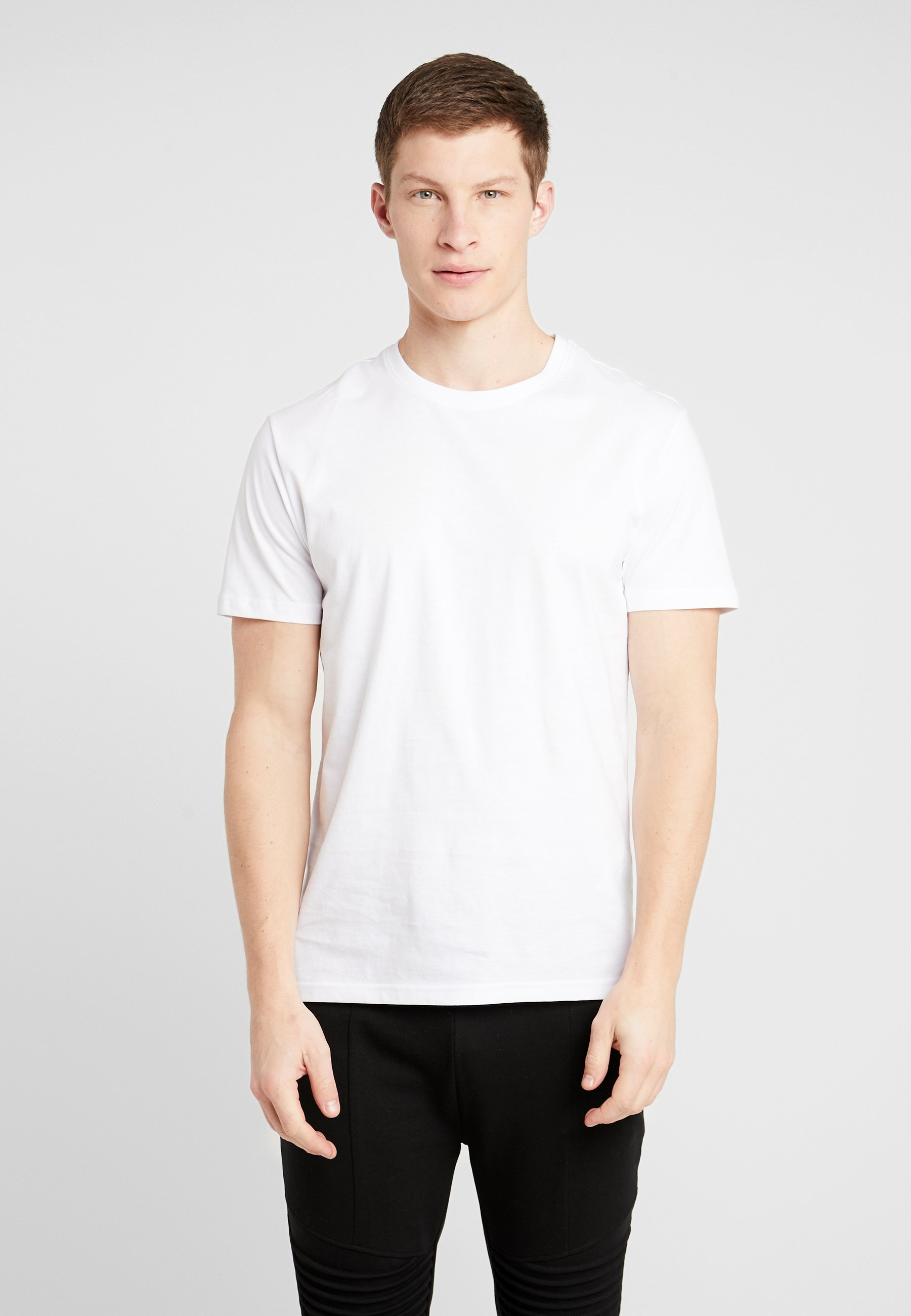 Pier One 5 Pack - T-shirts White/hvit