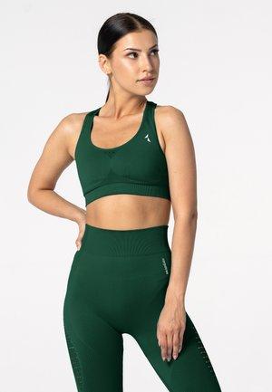 PHASE SEAMLESS - Sports bra - dark green