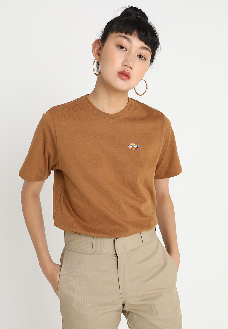 Dickies - STOCKDALE - T-shirts basic - brown duck