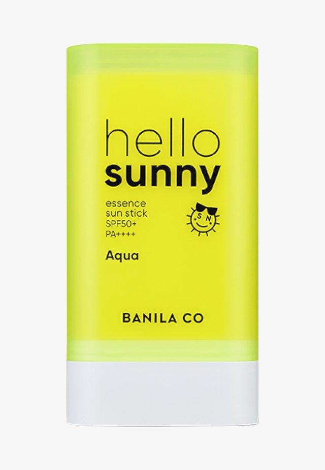 HELLO SUNNY ESSENCE SUN STICK SPF50+ PA++++ AQUA - Solcreme - -