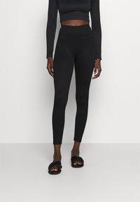 Gina Tricot - YARA LEGGINGS - Pyjama bottoms - black - 0