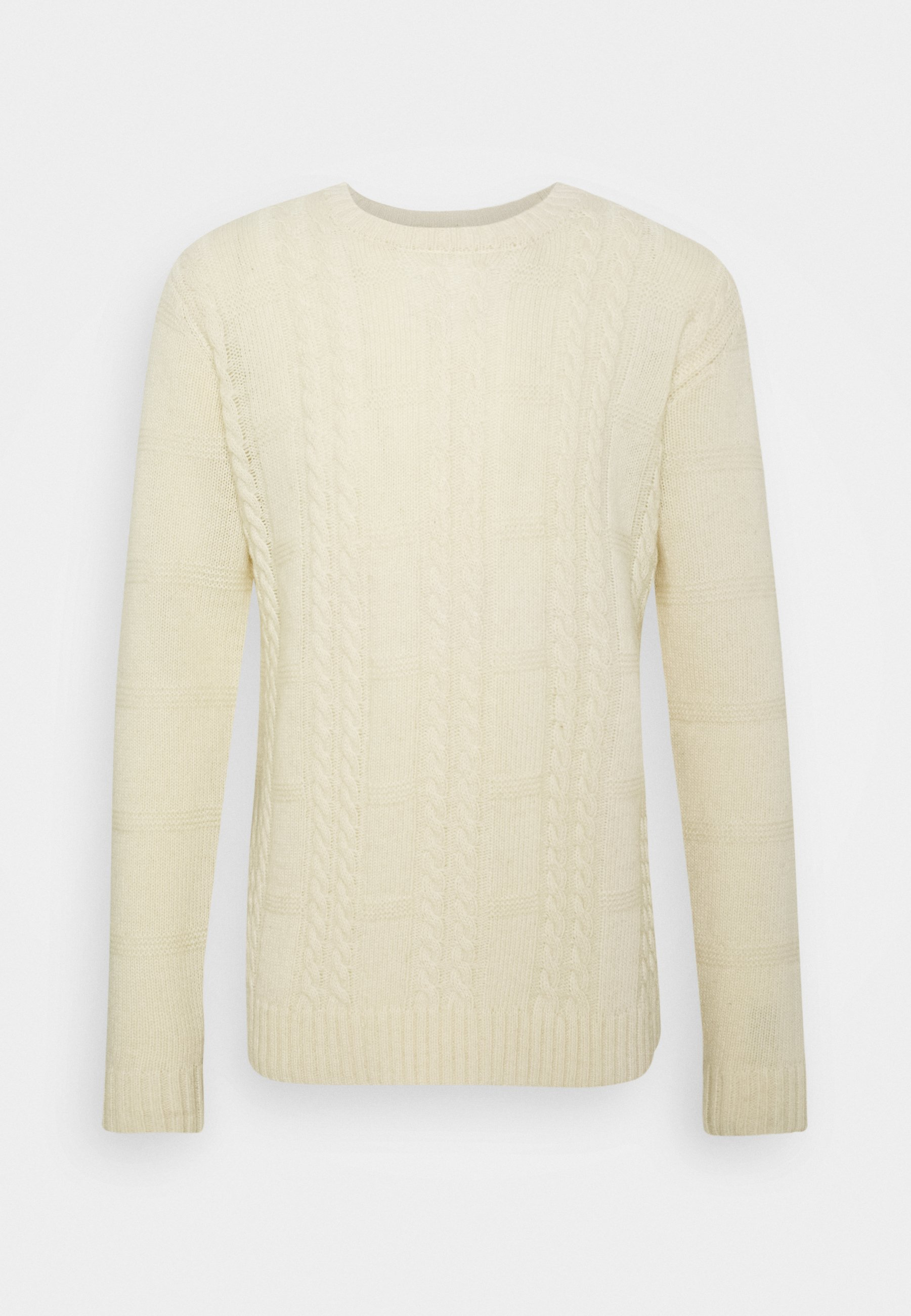 Les Deux Greene Cable - Strickpullover Offwhite
