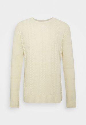 GREENE CABLE - Stickad tröja - offwhite