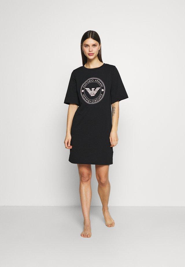 NIGHT DRESS - Noční košile - nero/black