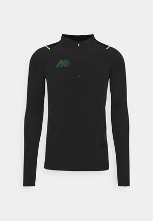 MERC DRY - Sports shirt - black/volt