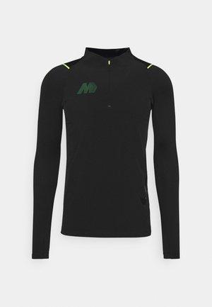 MERC DRY - Treningsskjorter - black/volt