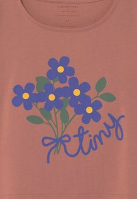TINYCOTTONS - TINY BOUQUET CROP - Print T-shirt - earth - 2