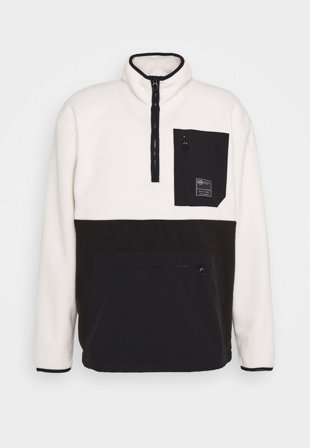 HALF ZIP WITH POCKETS - Fleece jumper - combo