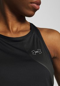 Under Armour - UA QUALIFIER ISO CHILL TANK - Funkční triko - black - 4