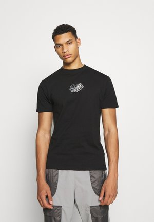 UNIVERSAL DOT UNISEX - T-shirt imprimé - black