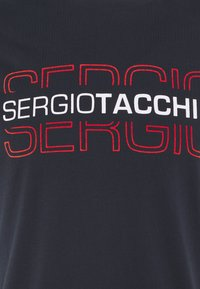 sergio tacchini - BOWL - Print T-shirt - navy/red