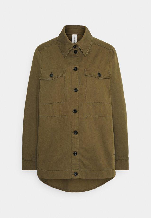 NATHEN - Summer jacket - grün