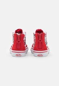Vans - SK8 ZIP - High-top trainers - racing red/true white - 2