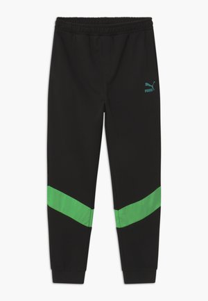 PUMA X ZALANDO TAPERED - Tracksuit bottoms - black