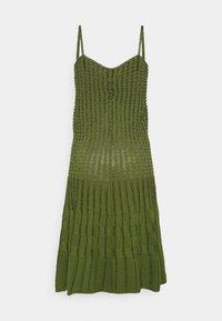 Pinko - DELTAPLANO ABITO - Pletené šaty - khaki - 9