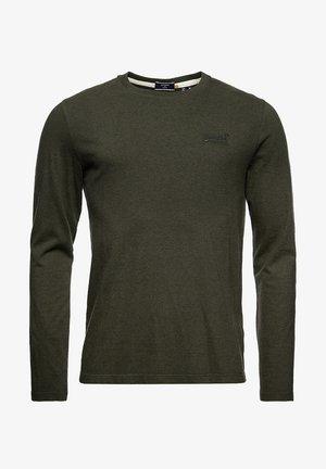 VINTAGE EMB LS  - Långärmad tröja - winter khaki grit