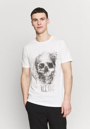 JORSOLEX CREW NECK - T-shirt med print - cloud dancer