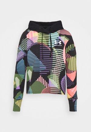 RIVAL GEO PRINT HOODIE - Sweatshirt - black